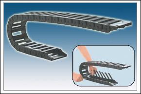 鼎力-桥式内开盖工程塑料拖链