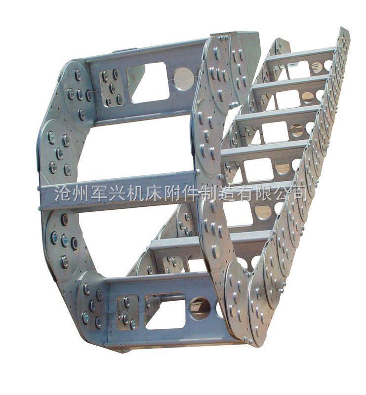 定制钢制工程拖链厂