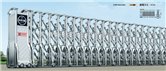 出口泰电动伸缩门、曼谷伸缩门厂、电动伸缩门的参数