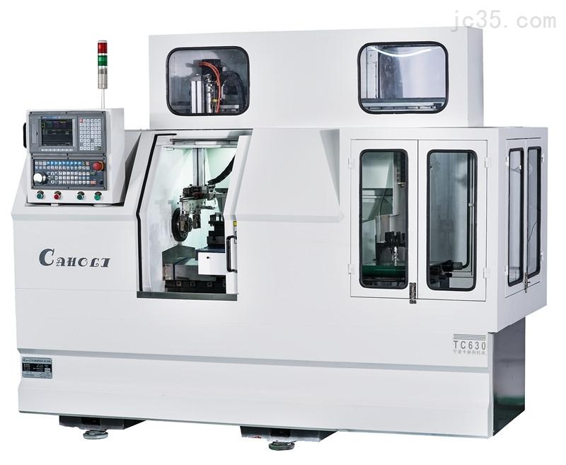 tc630 线轨平床身数控车床(加装机械手)