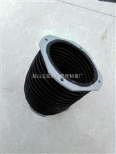 伸缩式圆形机床丝杠防护罩