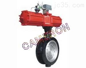 进口气动法兰式蝶阀,泵阀管件_设备配件_机械设备_供求