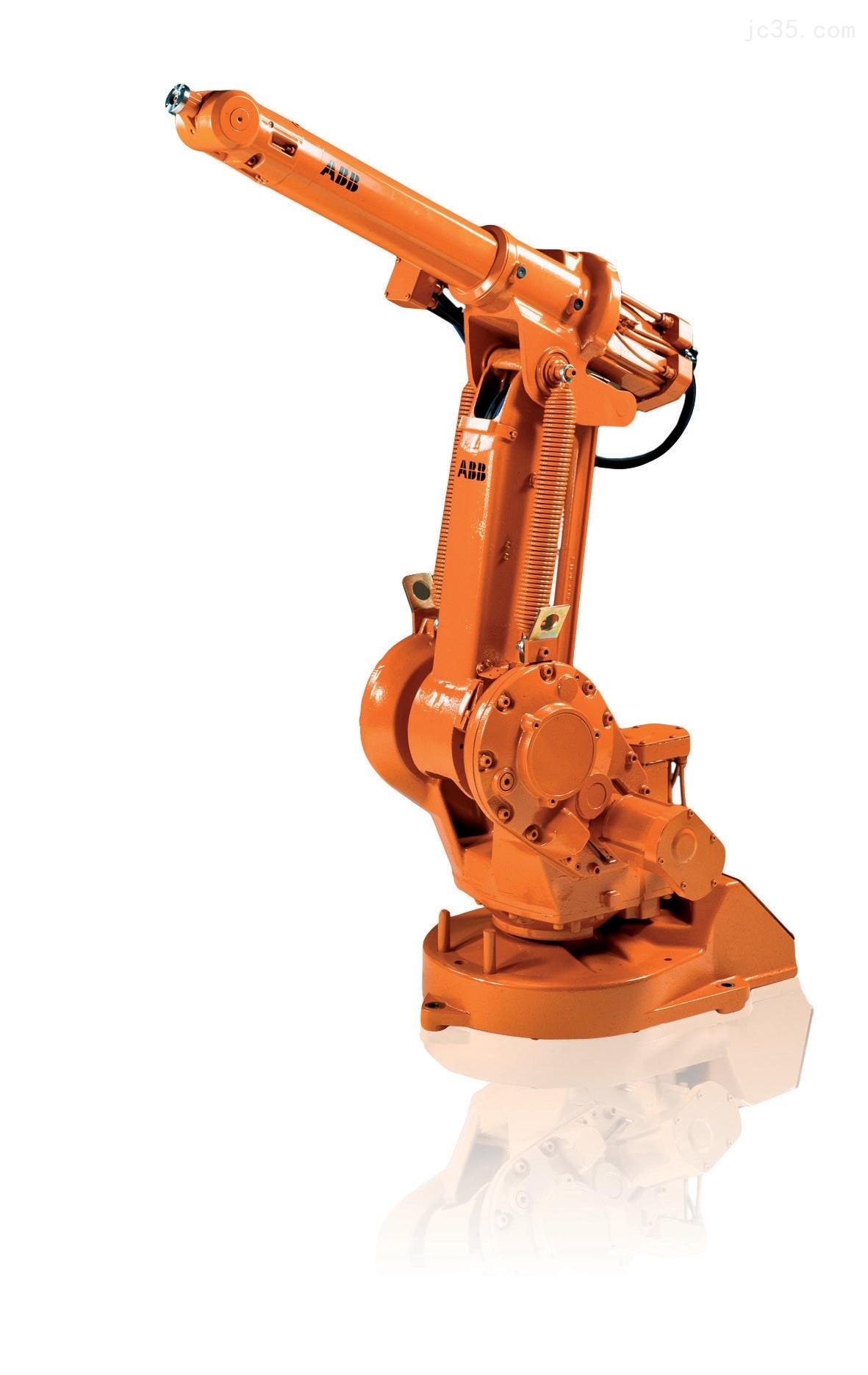 特性: IRB1410机器人在弧焊、物料搬运和过程应用领域历经考验,自1992年以来的全球安装数量已超过18000台。IRB 1410性能卓越、经济效益显著,资金回收周期短。 1.可靠性-- 坚固且耐用 IRB 1410以其坚固可靠的结构而著称,而由此带来的其他优势是噪音水平低、例行维护间隔时间长、使用寿命长。 2.