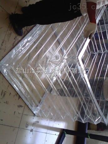透明方形风琴防护罩
