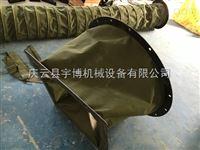 管道风机软连接 伸缩帆布软连接 钢丝支撑通风管