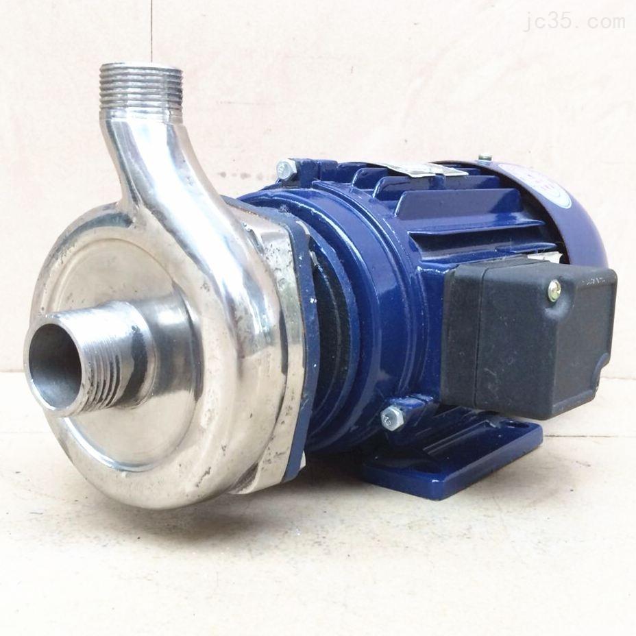 沃德不锈钢半开式食品卫生泵 豆浆输送泵 豆渣输送泵