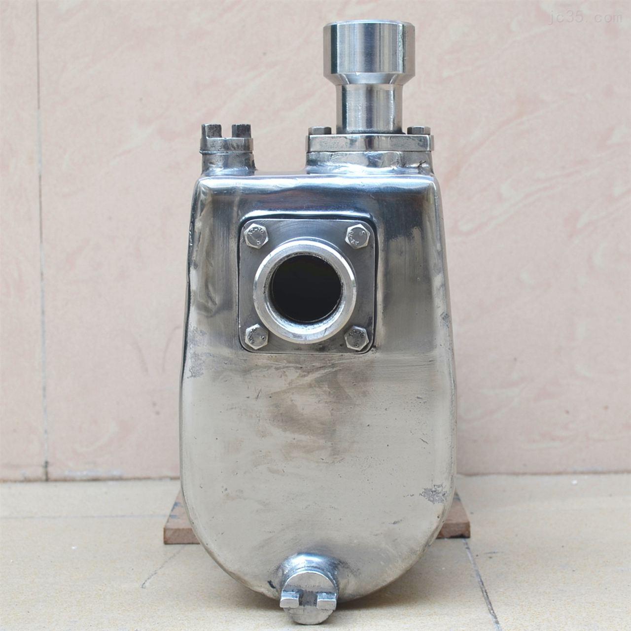 沃德自吸式不锈钢半开式食品卫生泵 豆浆输送泵 豆渣输送泵
