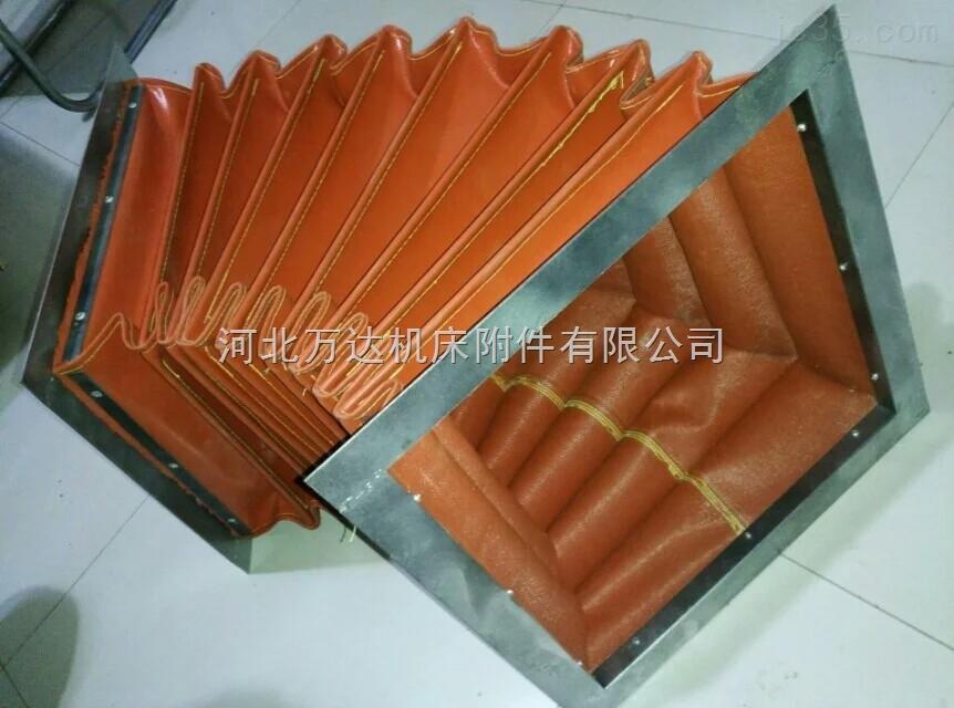 高温阻燃硅胶布软连接通风效果好