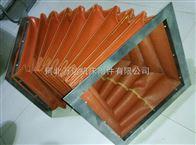 方形法兰连接工业硅胶布排烟软连接