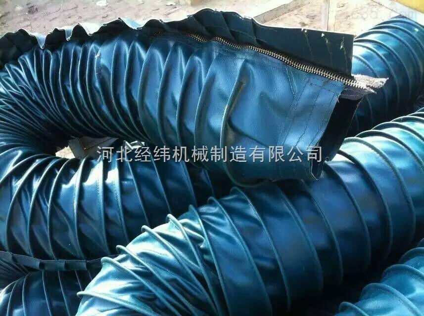 带拉链式活塞杆伸缩防护罩
