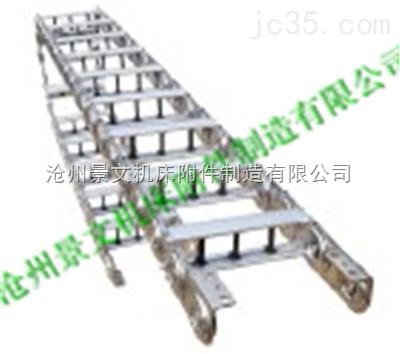 龙门铣床专用油管穿线钢铝拖链