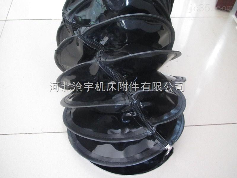 圆筒拉链式排烟除尘伸缩油缸防护罩厂家推荐