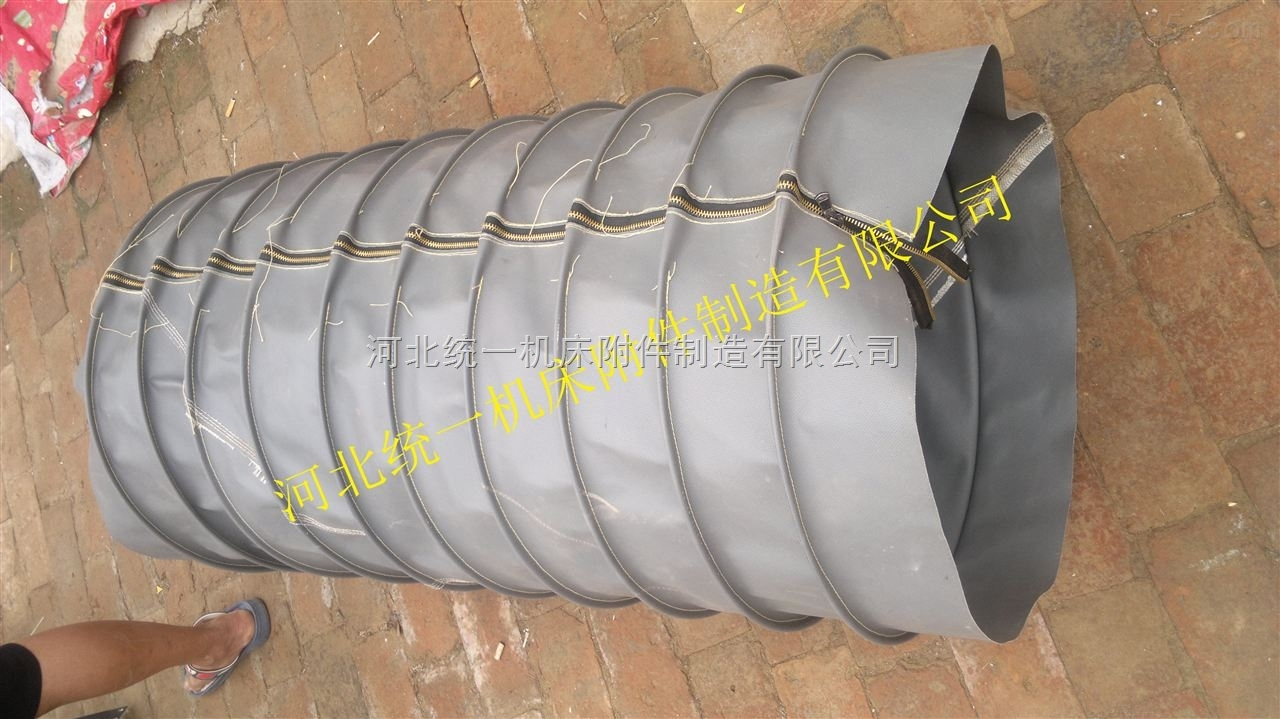 耐温400度圆形硅胶软连接生产厂家