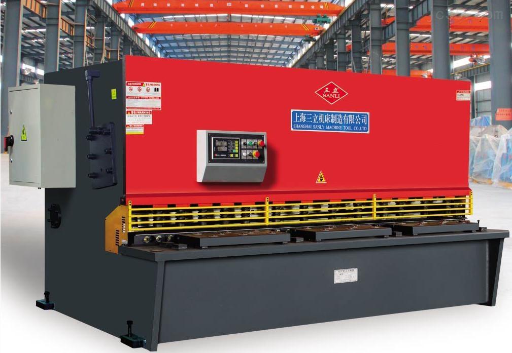 厂家直接供应上海三立4个厚液压摆式剪板机