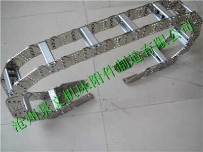 桥式工程穿线钢铝拖链真实生产厂家