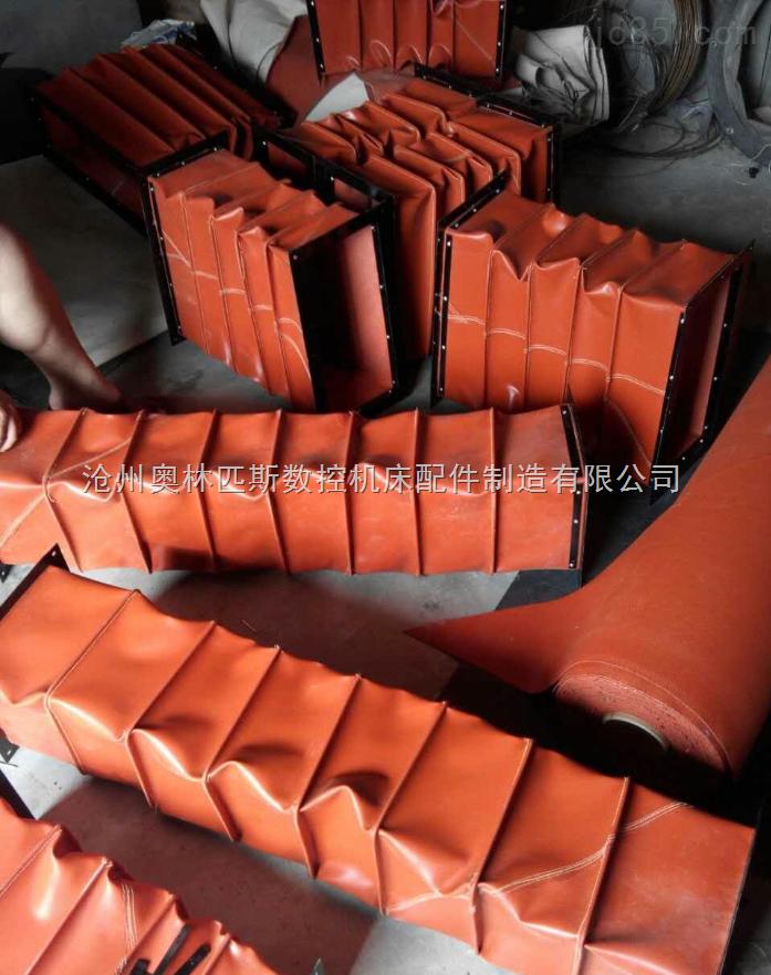 威海造纸机械专用通风伸缩软连接
