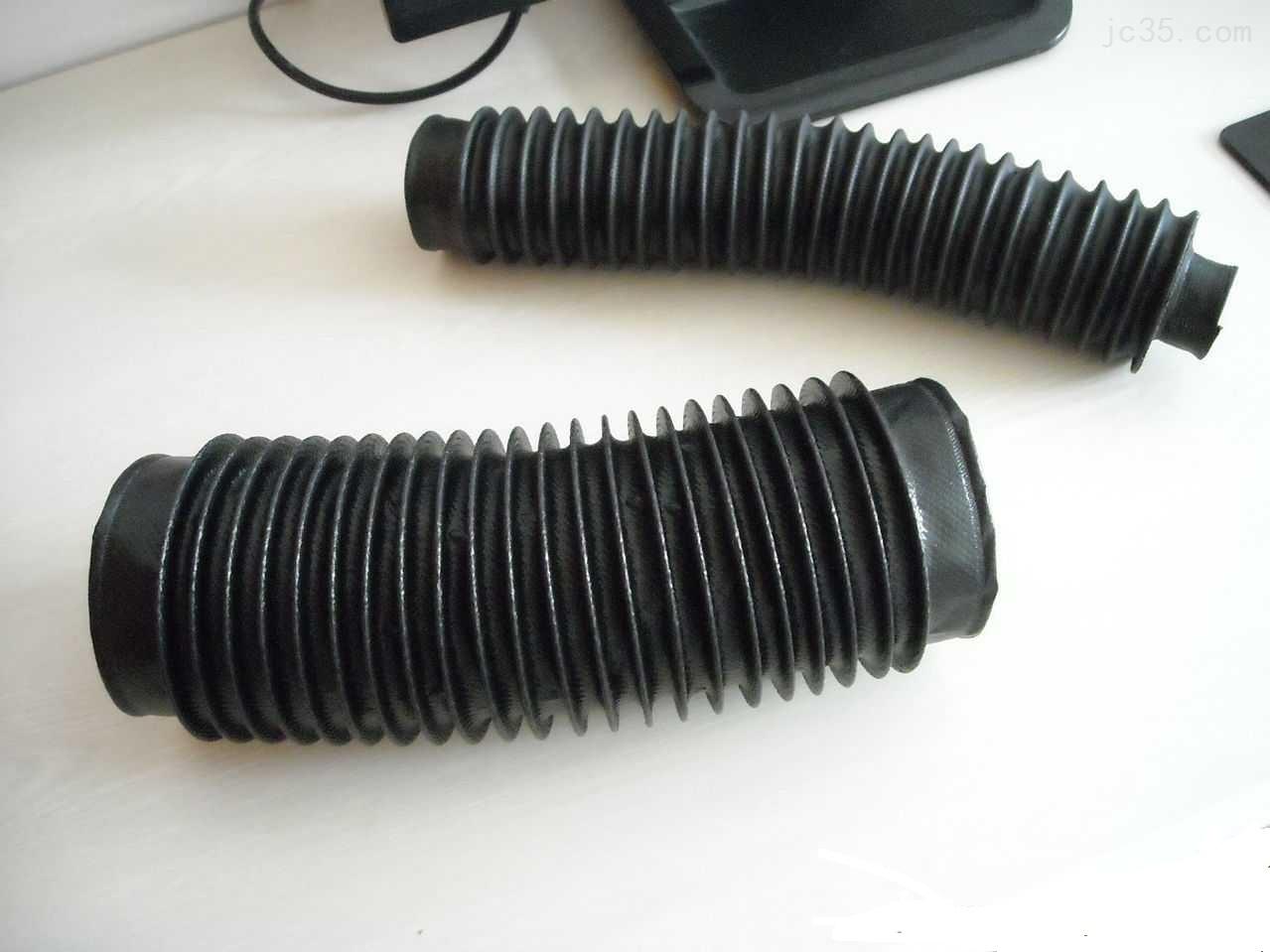 耐高温钢圈式丝杠防尘套