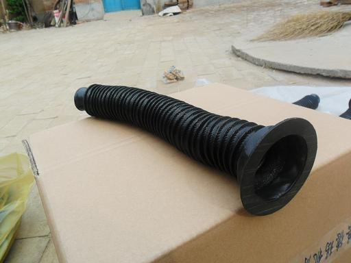 耐高温圆筒式橡胶丝杠防尘套