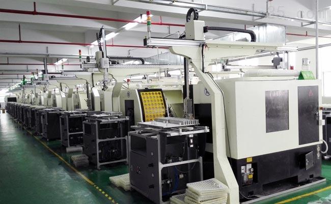 双联机数控车床机械手厂家 定制单机CNC机械手
