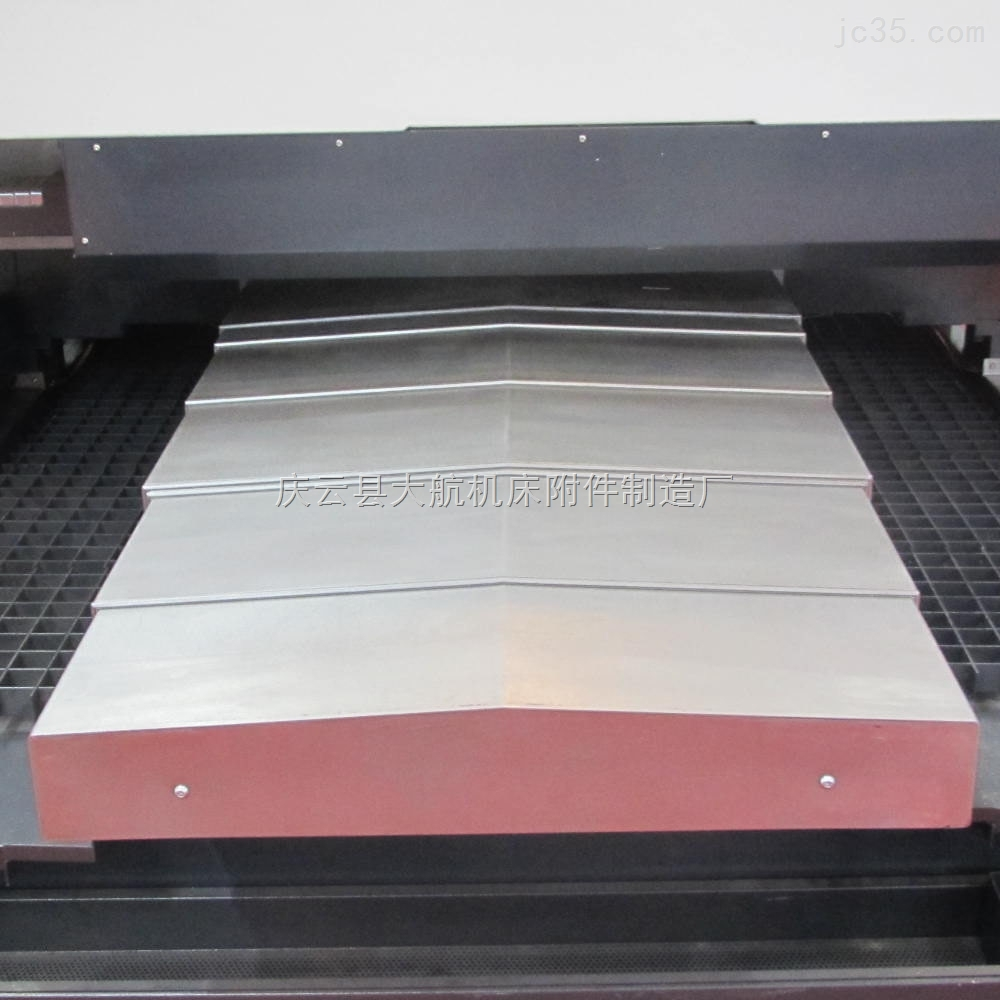 厂家加工龙门铣床钢板防护罩