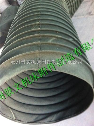 绿色帆布 输送软连接厂家生产批发