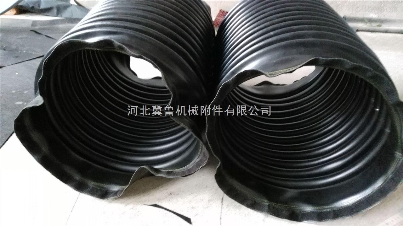 高温拉链式除尘尼龙布油缸防护罩