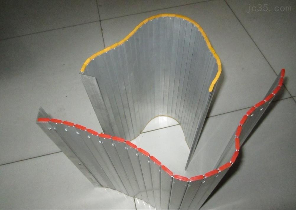 加工机床铝型材防护帘
