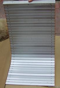 生产加工一字型导轨机床防护帘