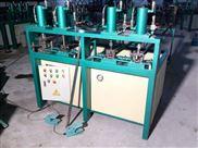 四川锌钢护栏圆方管型材自动液压打孔机
