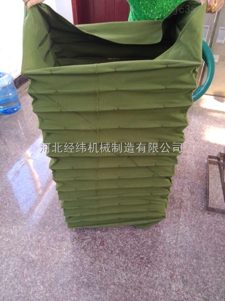 方形帆布伸缩软连接 帆布软连接厂家