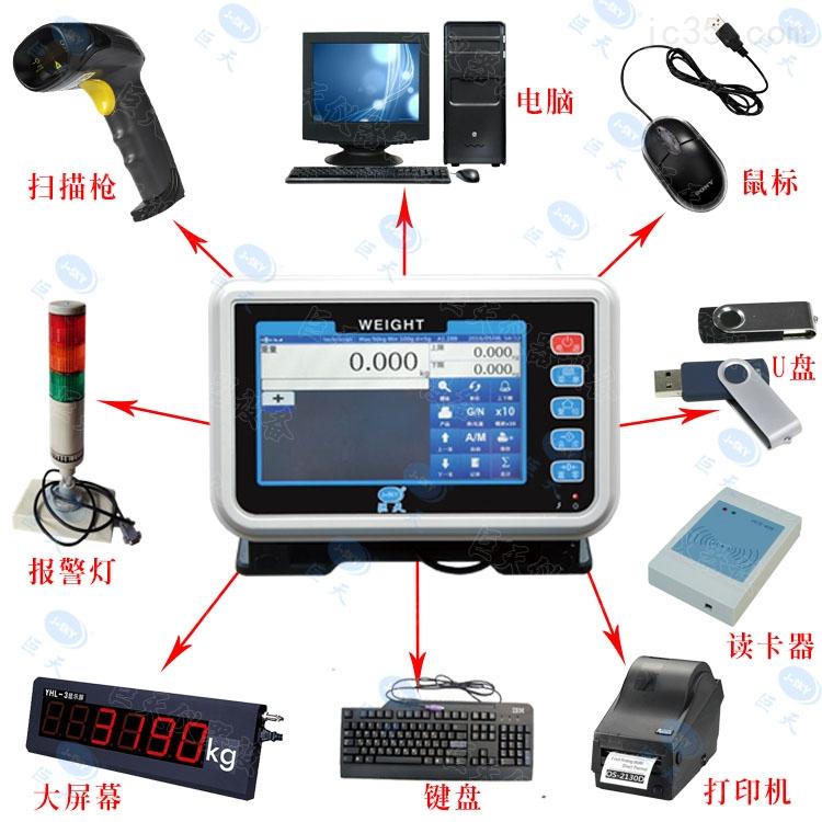 scs黑龙江省地秤.哪里的落地式电子地称彩色触摸屏操作