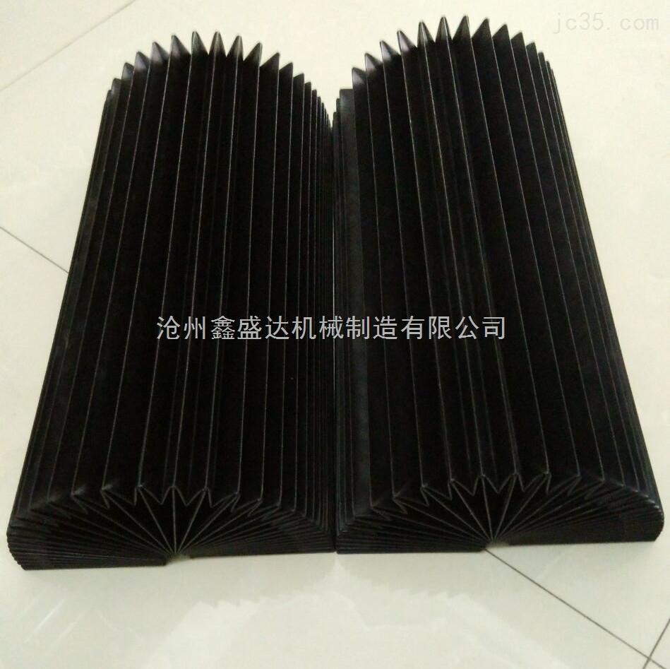 供应机床伸缩式柔性风琴式防护罩