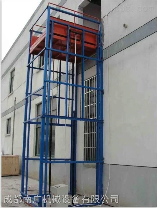 库房升降机导轨式液压升降机