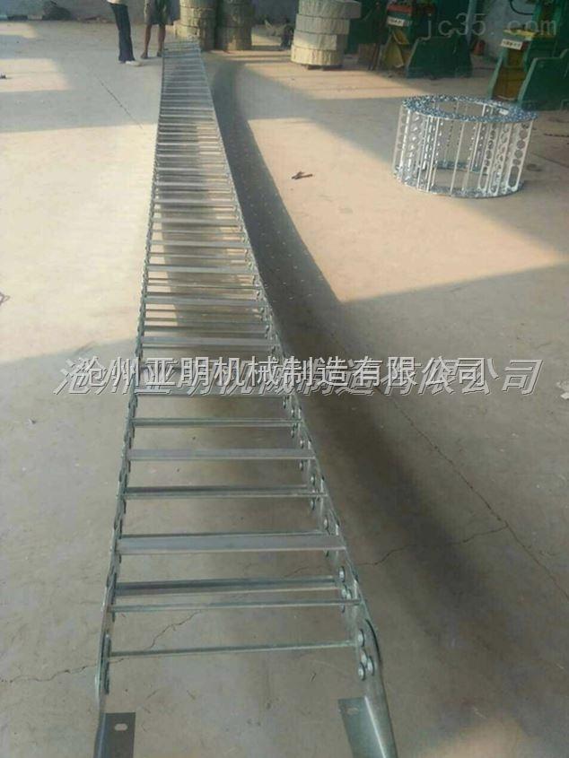 正品铣床不锈钢钢制拖链