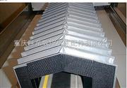哈挺机床伸缩式不锈钢板防护罩
