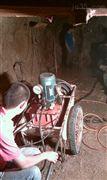 铁矿洞采劈石机