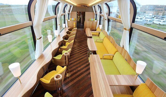日本推出玻璃火车 乘客充分感受美景