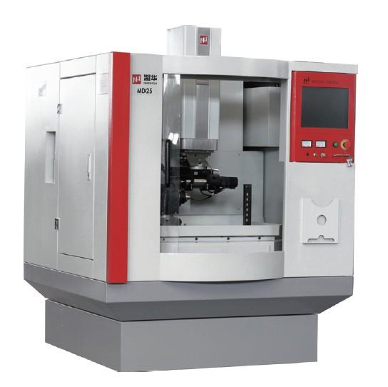 北京凝华科技有限公司生产的md25h系列电火花刀具刃磨机床,用于聚晶