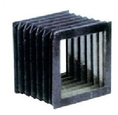 方形伸缩式防尘罩厂家产品图